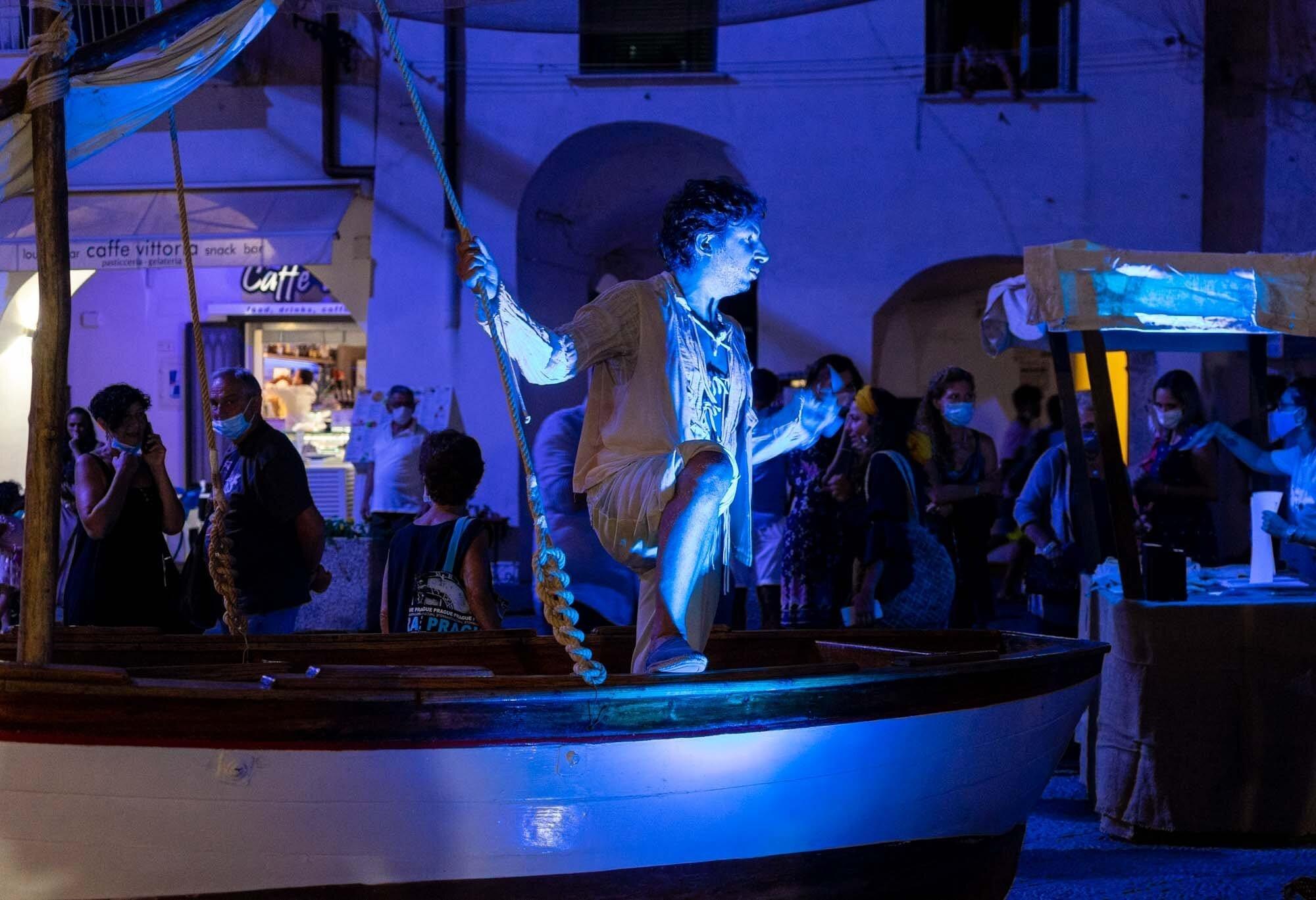 Главный праздник лета в Атрани: Pesce Azzurro