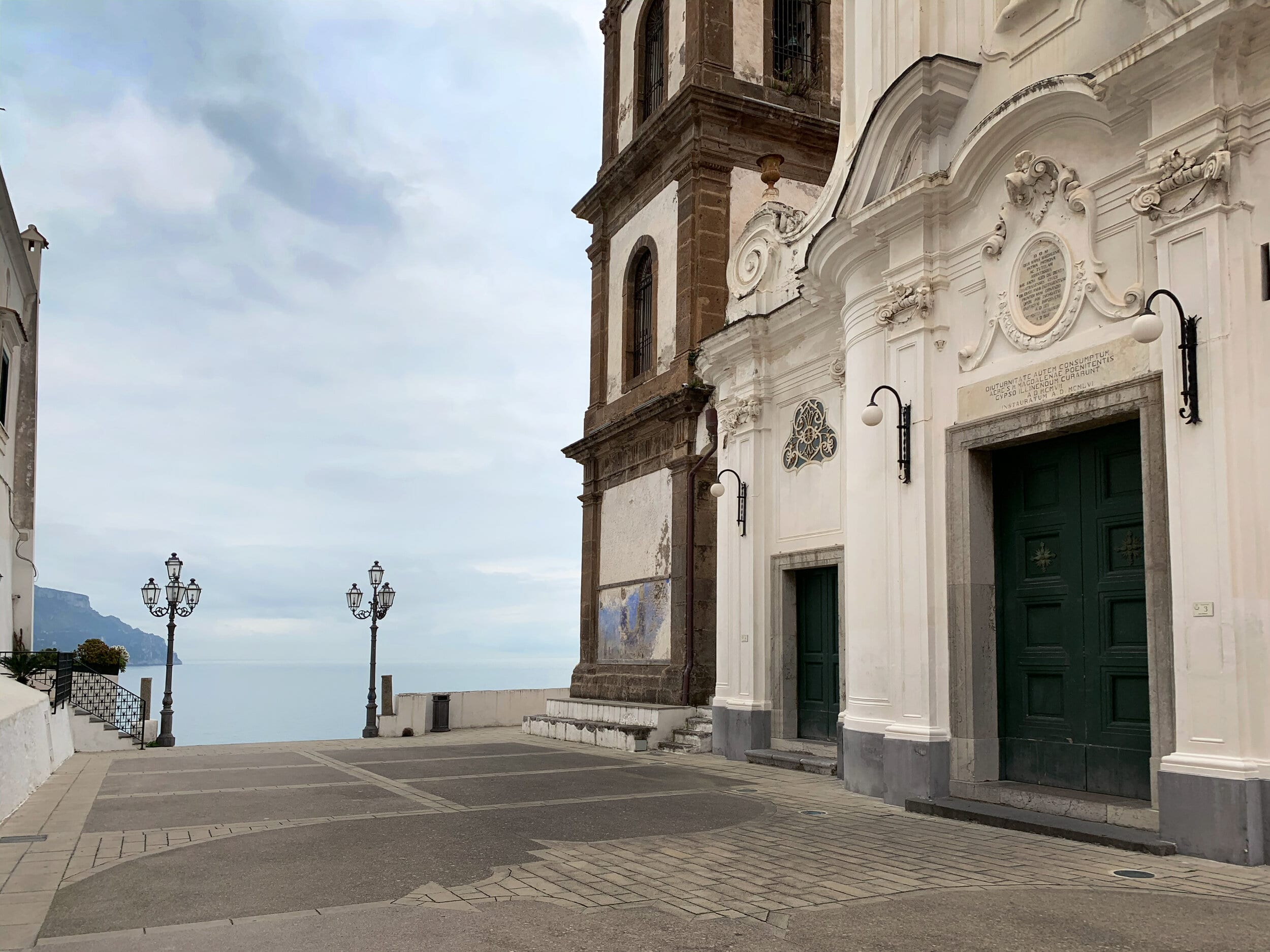 Площадь перед церковью святой Марии Магдалены
